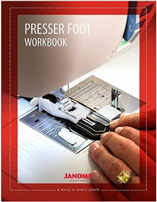 Janome Presser foot workbook - NEW