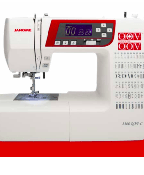 JANOME 3160QOV -IN STOCK -  QUILT OF VALOUR EDITION