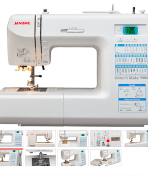 JANOME Schoolmate S-7330 School Mate - BONUS QUILT KIT INCLUDED