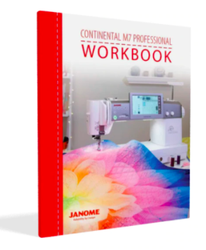 Janome Continental M7 Sewing Machine Workbook