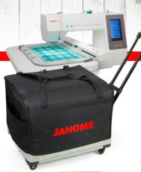 Janome MC500E / MC550E Roller case by Tutto