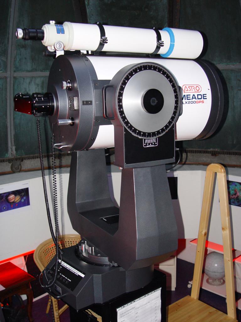 Observatoriets to teleskoper.