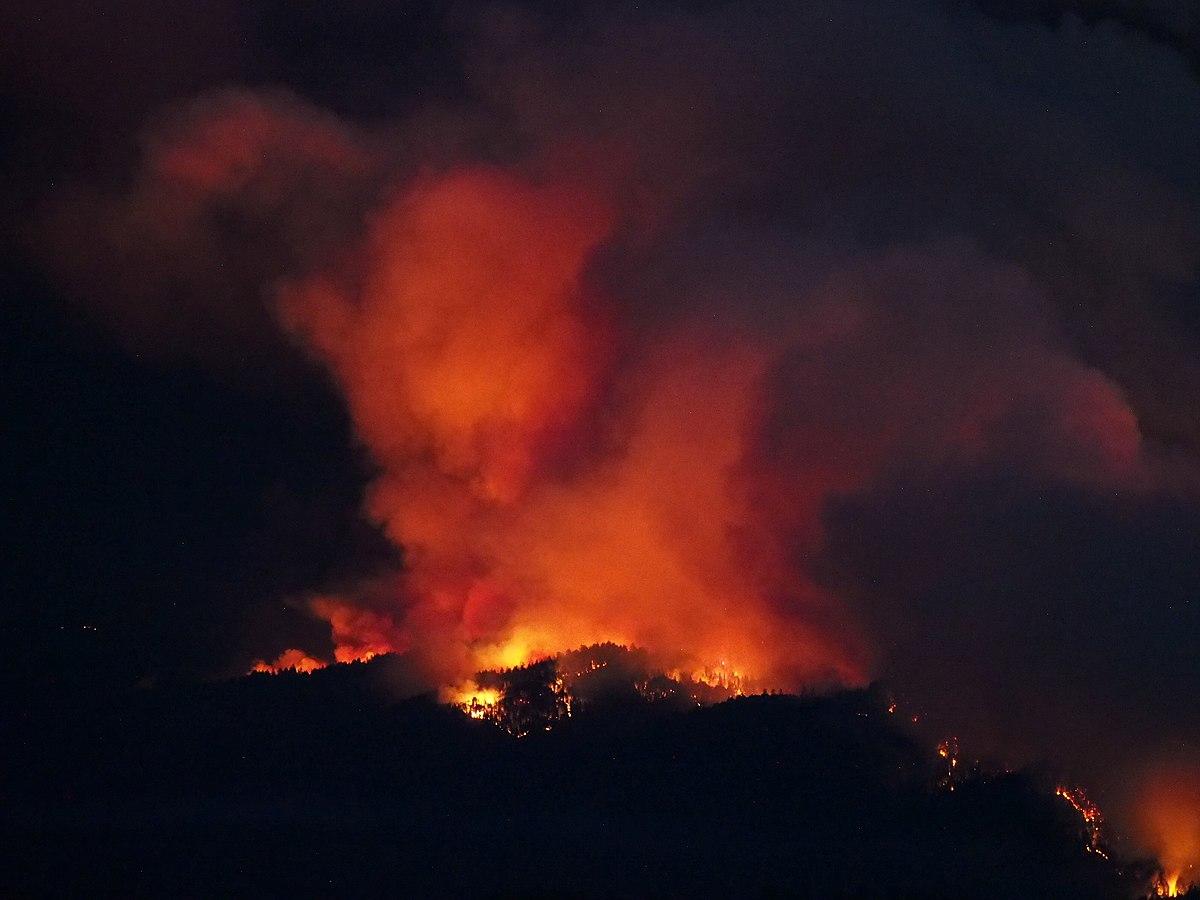 CZU lightning complex fire 2020