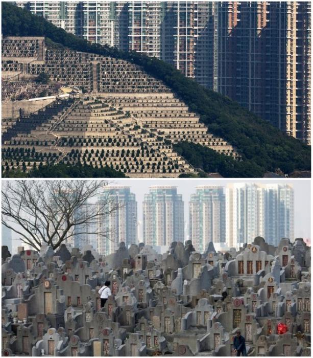На территории Гонконга уже нет мест даже для создания колумбариев. | Фото: vestifinance.ru/ Finbarr Fallon.