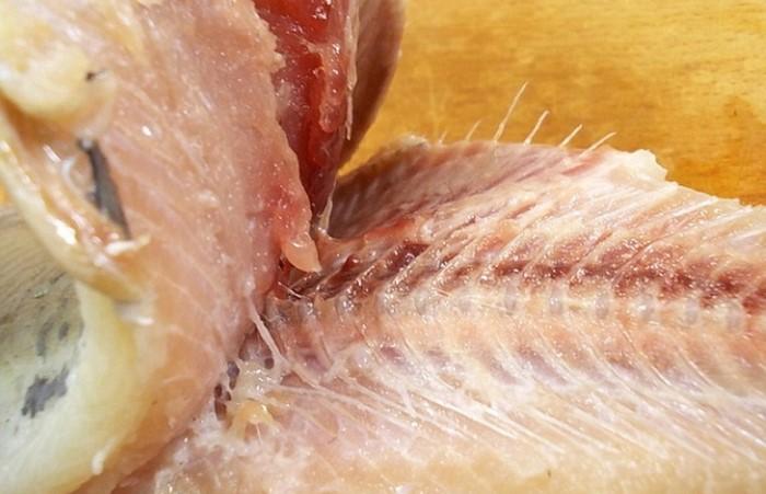 Pokud jste správně oddělili maso od hřebene, téměř nebude zůstat kosti / foto: soveetclub.ru