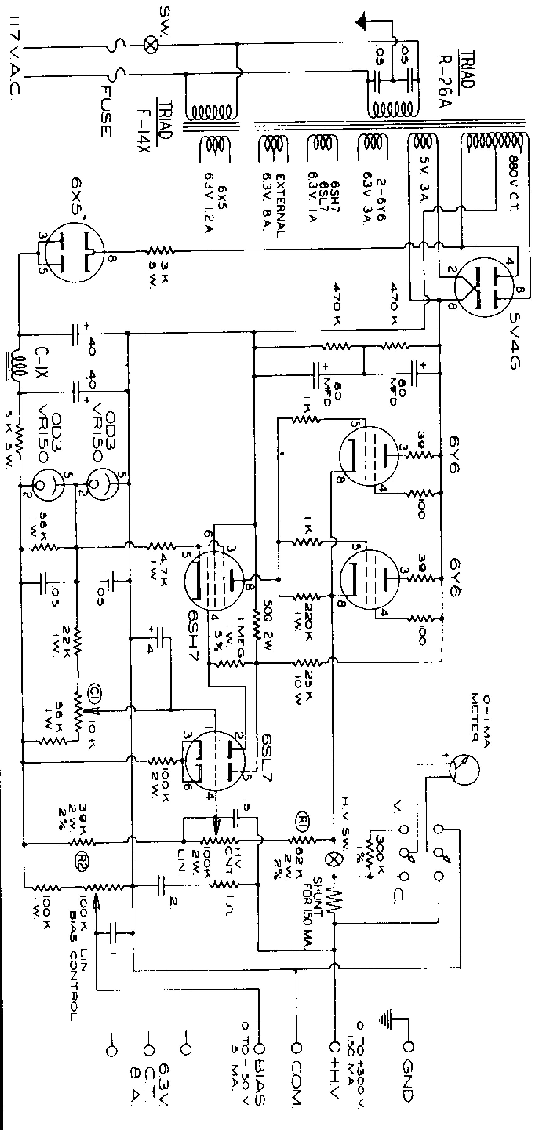 Diy Bench Supply Schematics