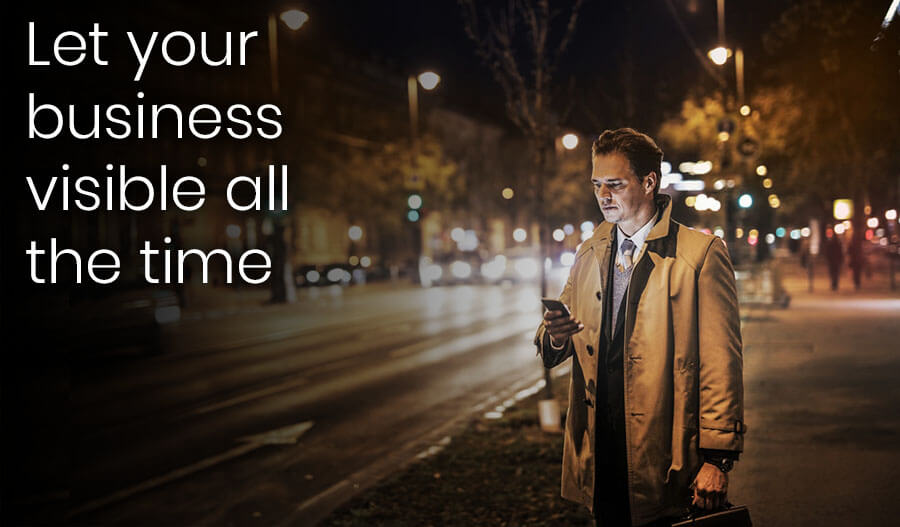 let your business visible with nova tech zone mobile solutions