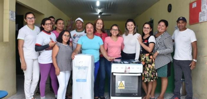 Secretaria de Saúde melhora ambientes de trabalho!