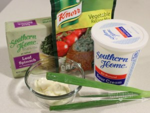 Easy & delicious cold spinach dip! - NovaturientSoul.com
