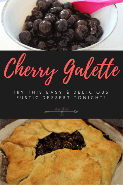 Try this amazing rustic dessert tonight! It's so easy to make, but your guests will think you're a master baker! - NovaturientSoul.com