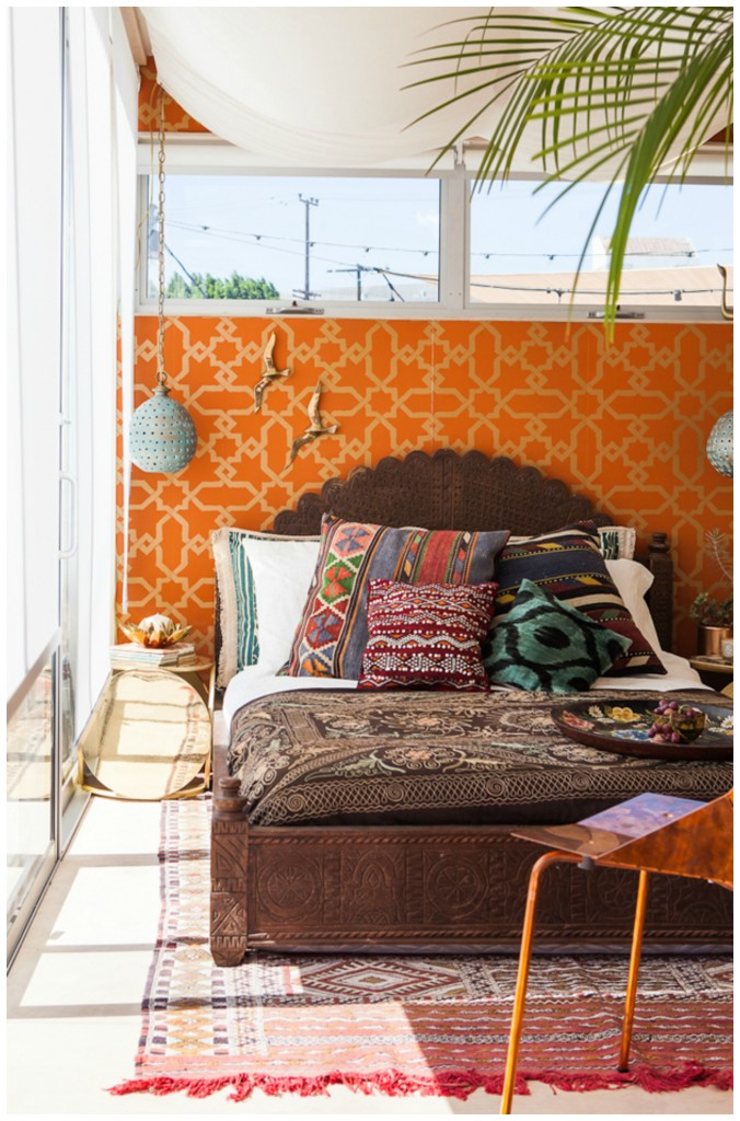 justina.b. moroccan inspired airbnb