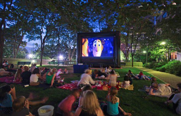 Movie Night Gateway Plaza