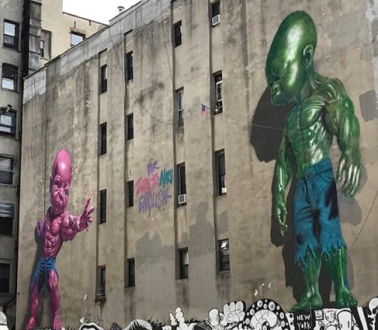 Street Art na Mulberry St