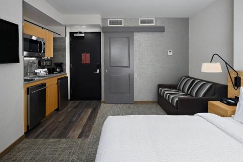 TownePlace Suites by Marriott - Hotel com cozinha em Nova York de ótima localização