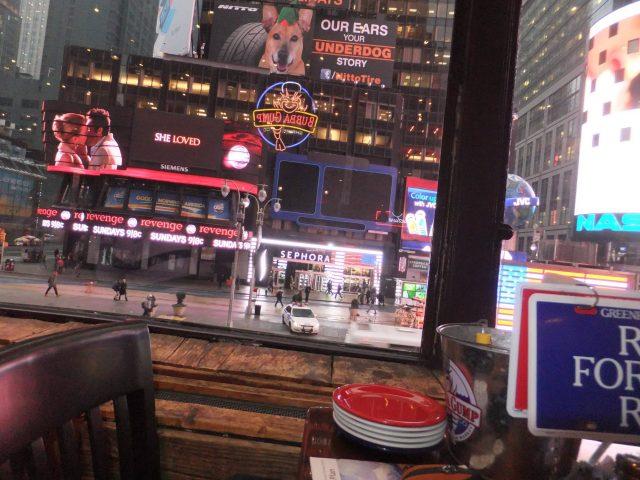 restaurantes na times square