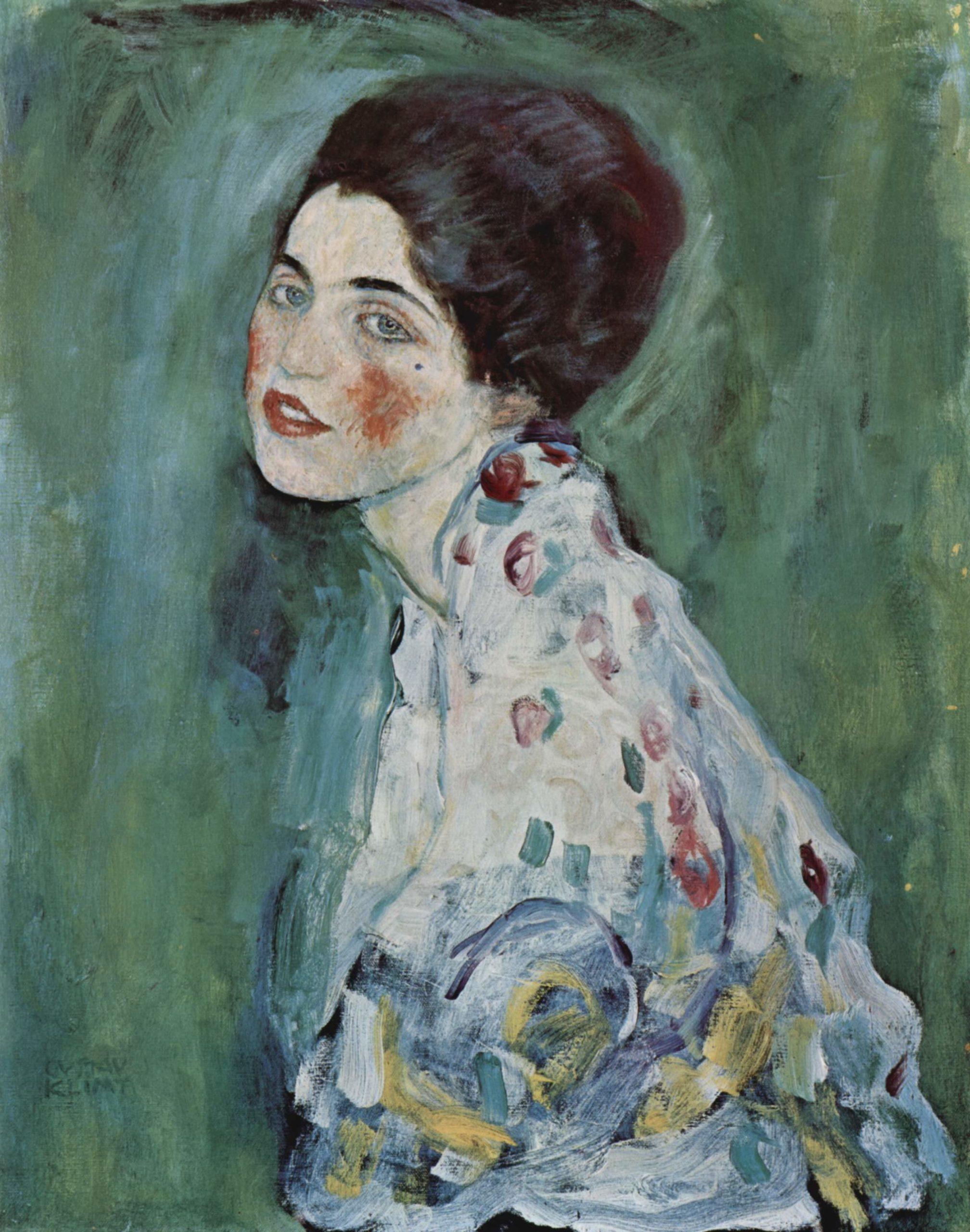 """Gustav Klimt, """"Ritratto di signora"""", 1917"""