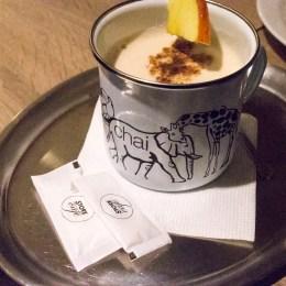Chai latté - to taky rozhodně nepotřebovalo dosladit