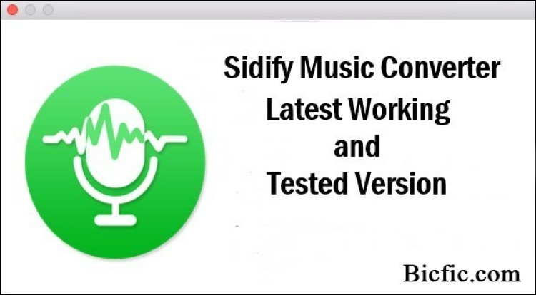 Sidify Music Converter Crack Free Registration Key Free