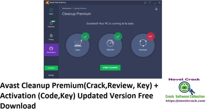 Avast Cleanup Premium(Crack,Review, Key) + Activation (Code,Key) Updated Version Free Download
