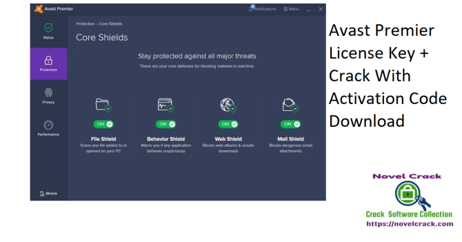 Avast Premier License Key + Crack With Activation Code Download