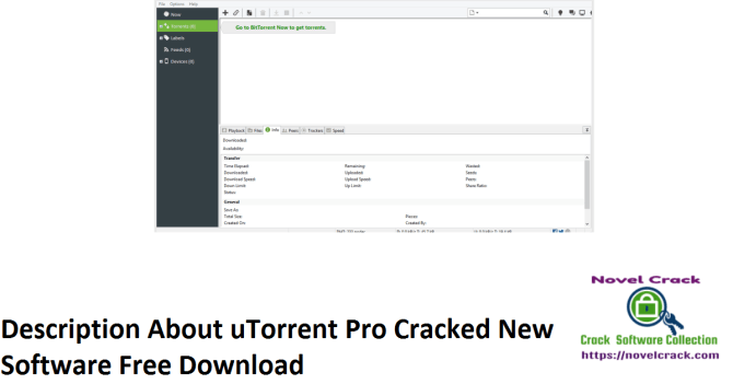 Description About uTorrent Pro Cracked New Software Free Download