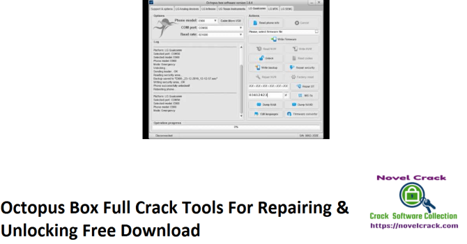 Octopus Box Full Crack Tools For Repairing & Unlocking Free Download
