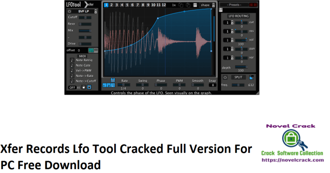 Xfer Records Lfo Tool Cracked Full Version For PC Free Download