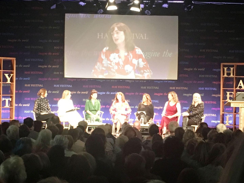 #Vote100Books-panel-at-Hay-Festival