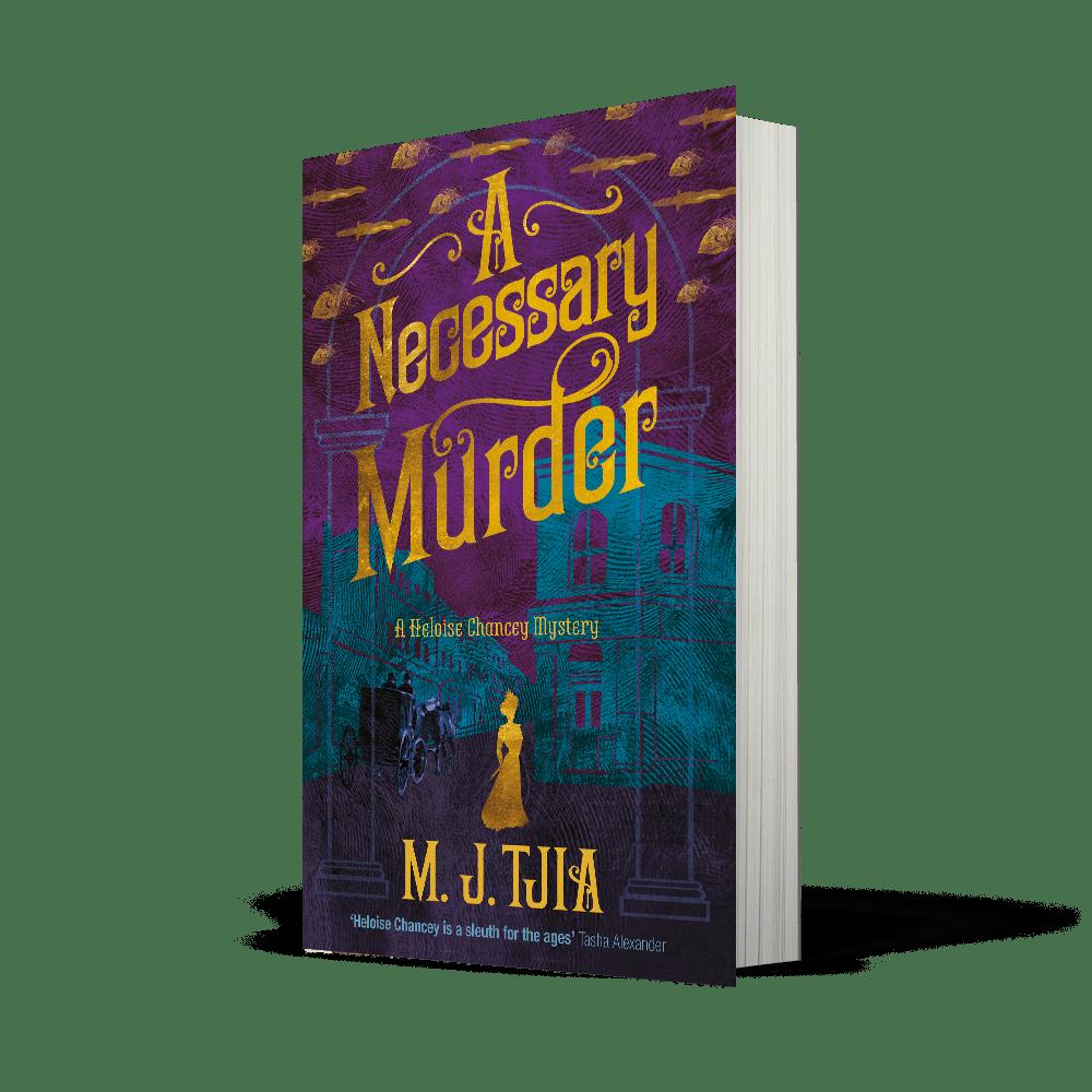 Kicking off the Blog Tour: A Necessary Murder