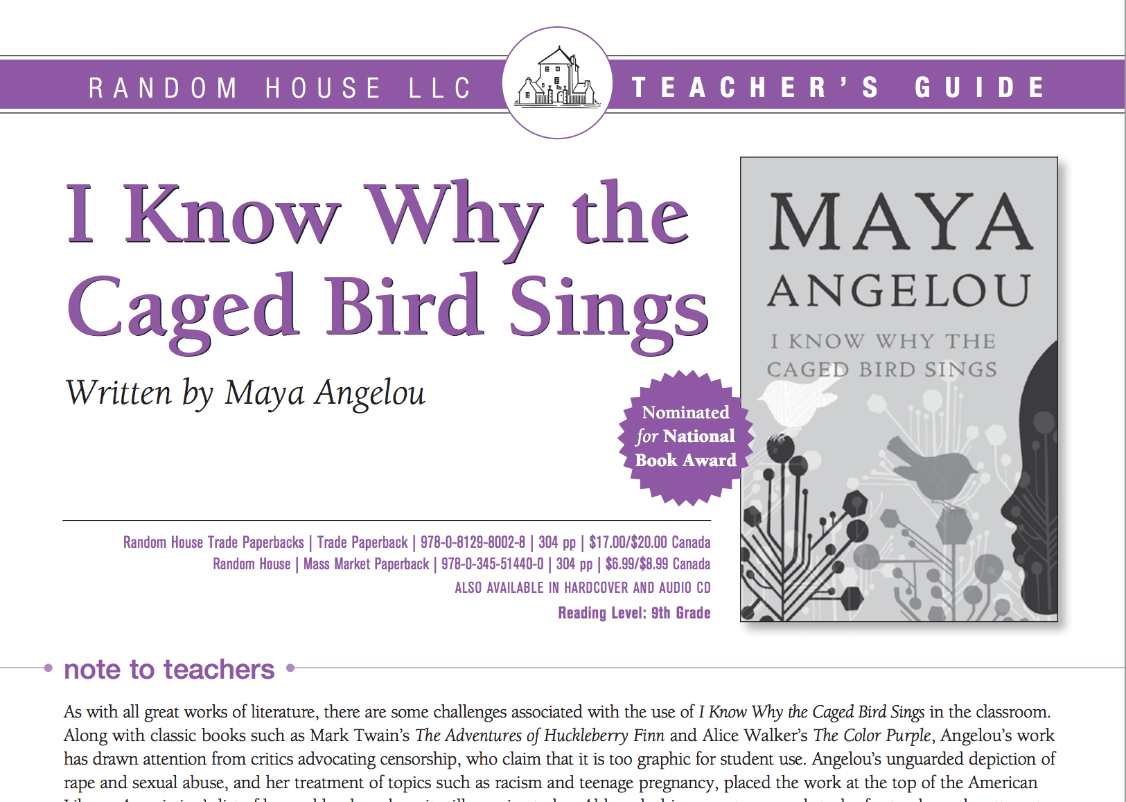 Watch I Know Why The Caged Bird Sings Review Do You Know