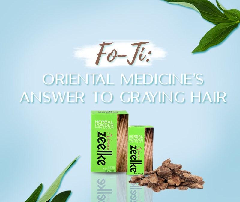 Fo-Ti: Oriental Medicine's answer to Graying Hair