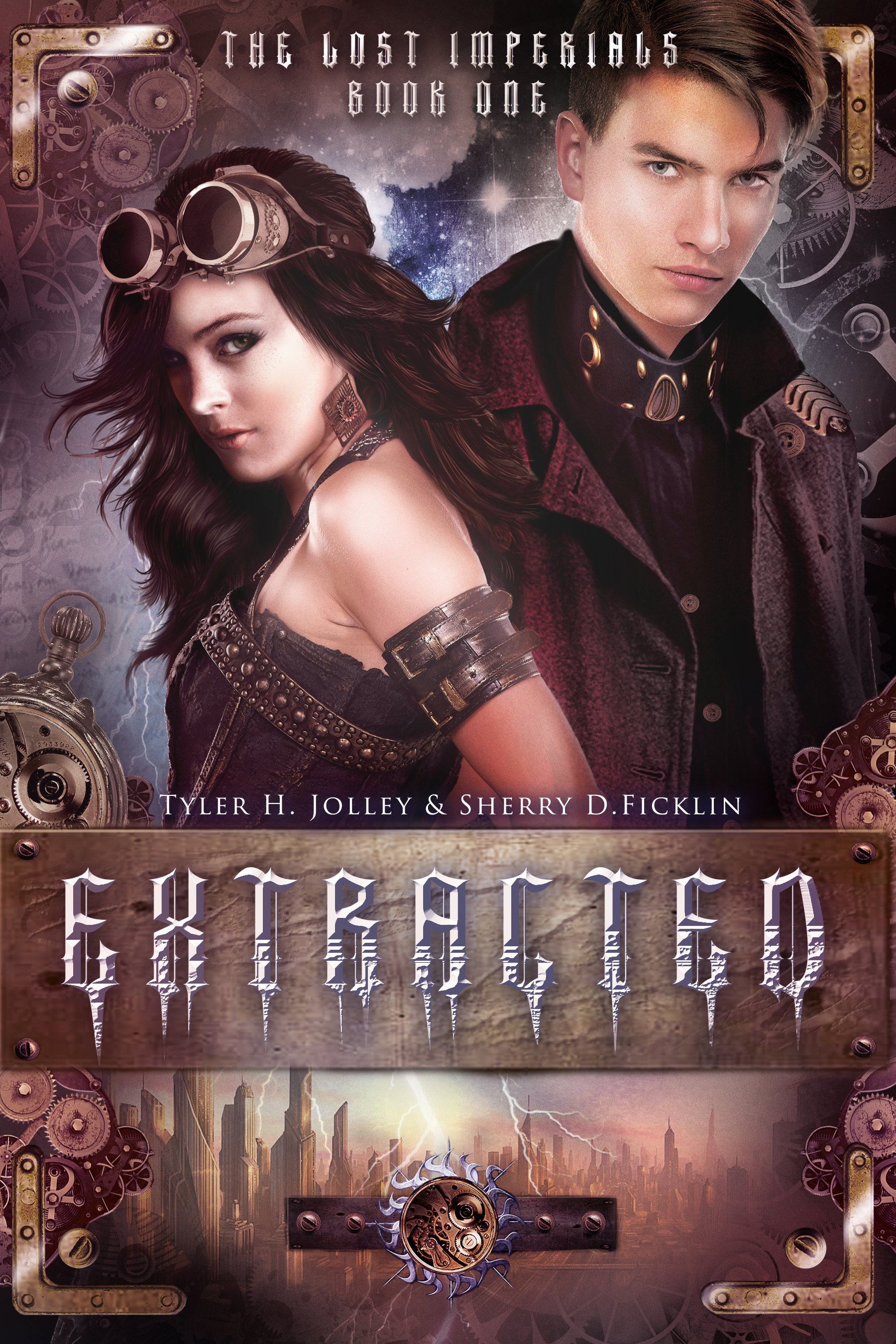 Cover Reveal – Extracted by Sherry D. Ficklin & Tyler H. Jolley