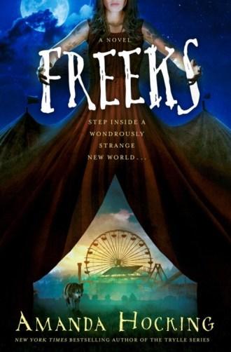 Blog Tour Review – Freeks by Amanda Hocking