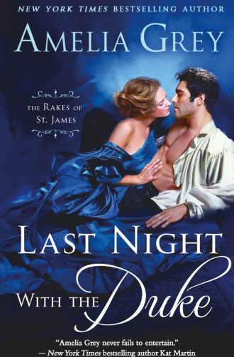 Review – Last Night with the Duke by Amelia Grey