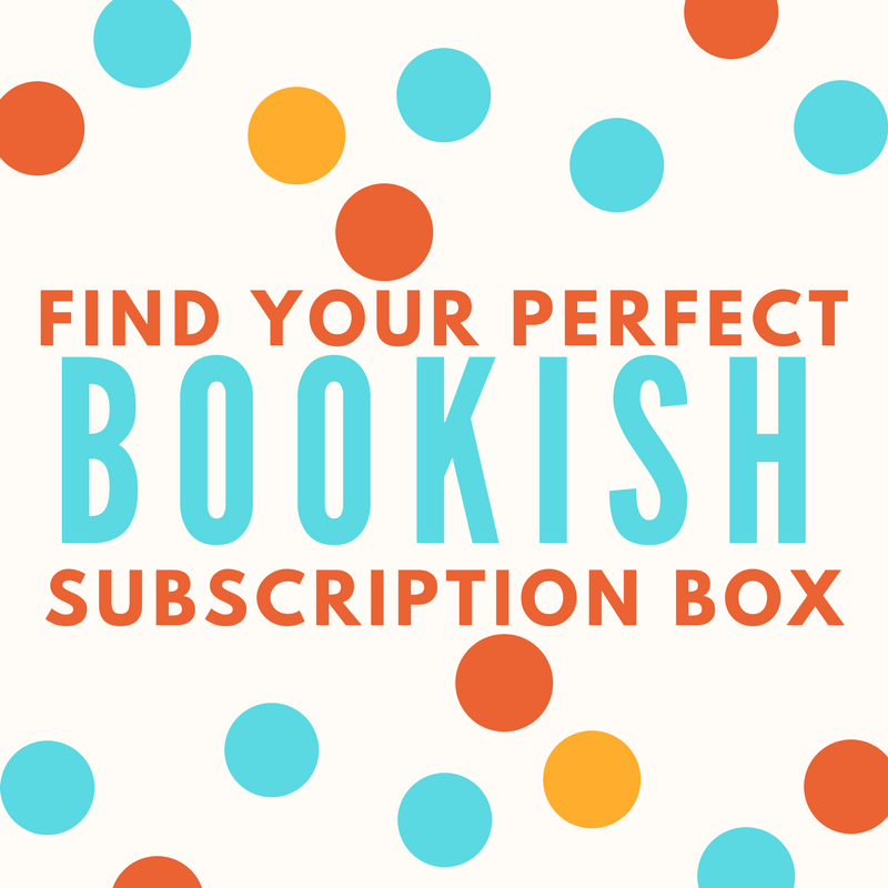 Find Your Perfect Bookish Subscription Box
