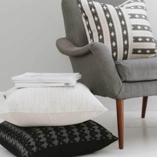 Cream & Black | Cushion Selection