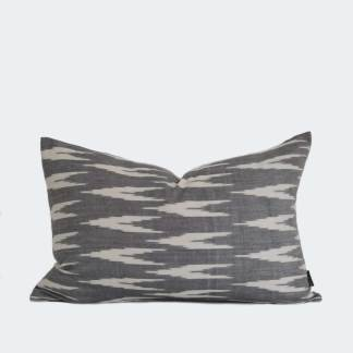 IKAT | Grey V | Cushion Cover