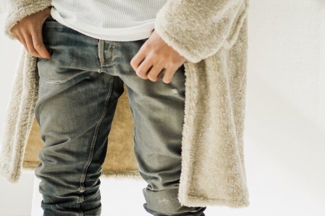 Fleece Wrap # 1