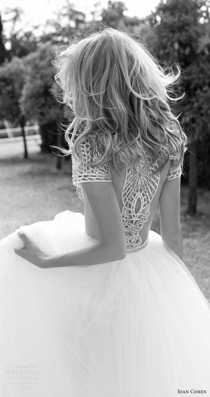 idan-cohen-bridal-2017-cap-sleeve-jewel-neck-beaded-bodice-ball-gown-wedding-dress-carla-the-river-zbv-illusion-back
