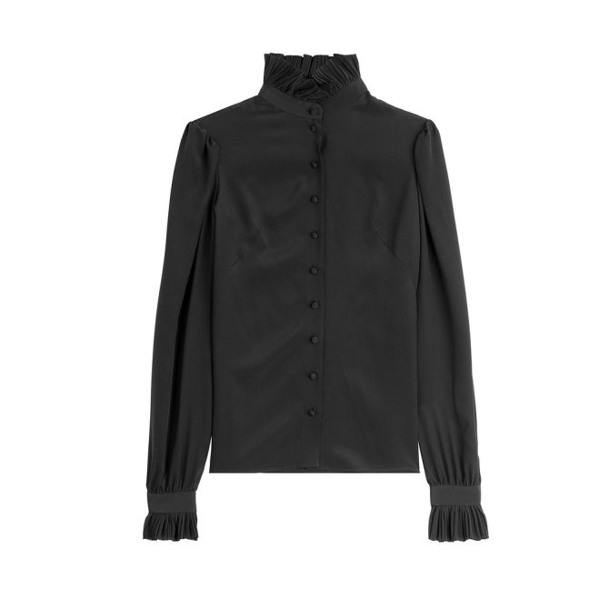Alexander McQueen Silk Blouse €489 | Photo: Shopbop