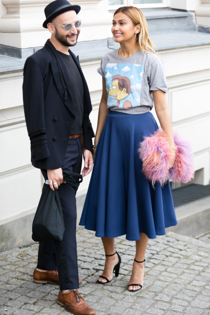 Street style at Berlin Fashion Week