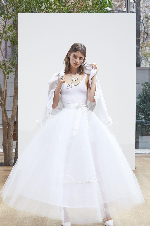 Oscar de la renta dresses white floral dress 2018 garden and gun