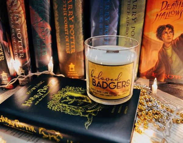 Beloved Badgers soy candle