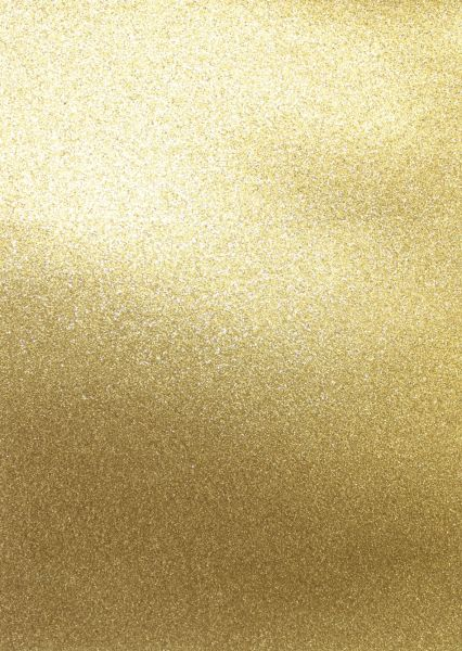 Artoz Glitter Papier selbstklebend gold, A4