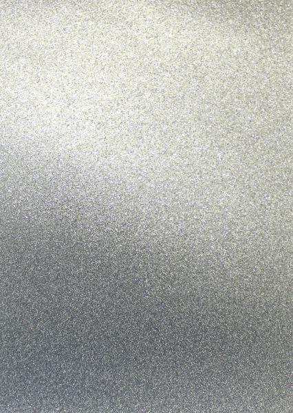 Artoz Glitter Papier selbstklebend anthracite, A4