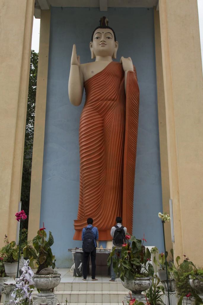 Buddha at Sri Pada, Sri Lanka