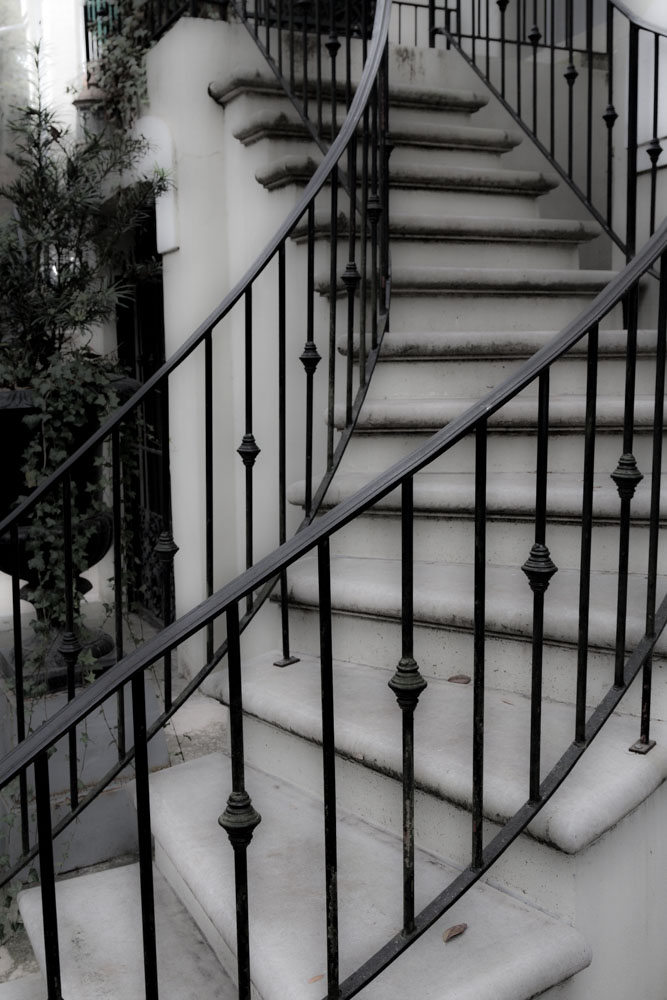 Stairway, Savannah, Georgia