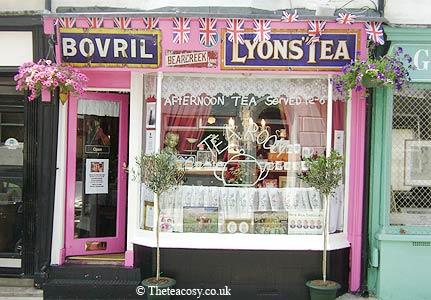 The Tea Cosy, Brighton. England's campest tearoom!