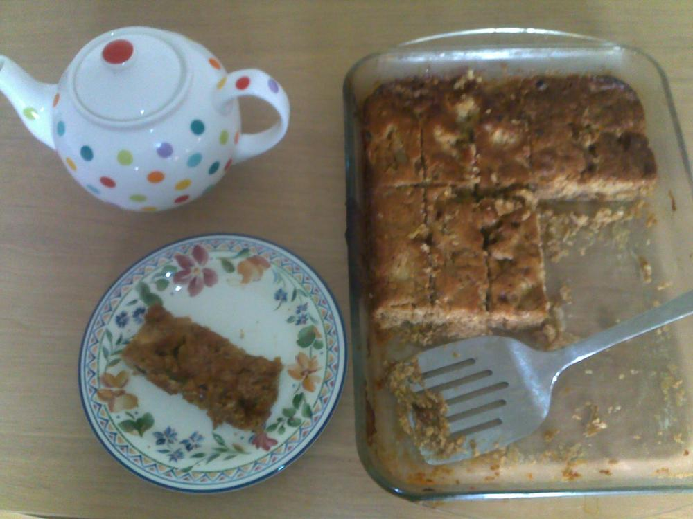 The exploits and misadventures of Herman, the German friendship cake: day 10