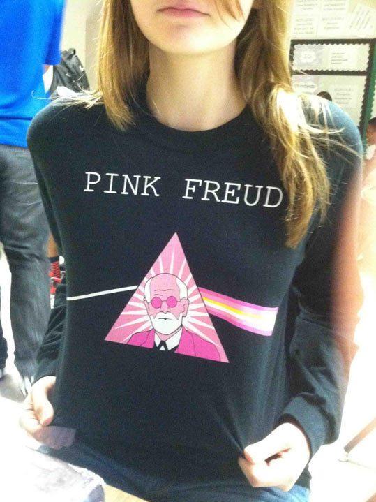 Pink Freud Shirt
